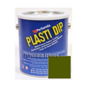 Plasti Dip Camo Vert mat en bidon 3.78l