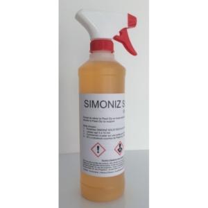 Kit Simoniz Solid Gold 500ml
