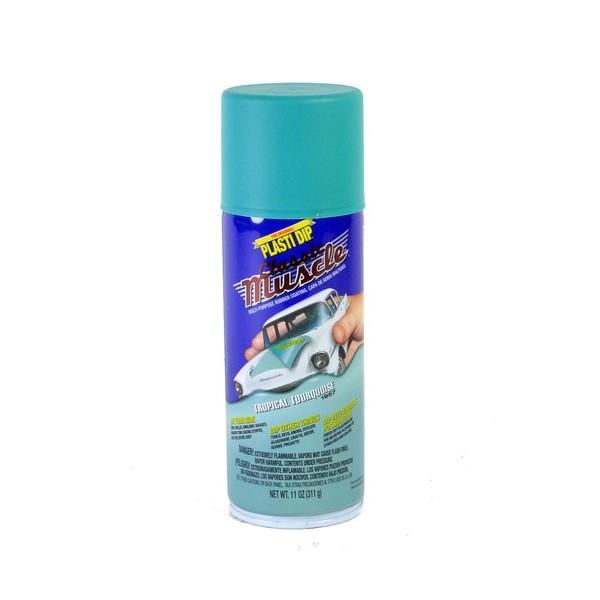 Plasti Dip Muscle Tropical Turquoise mat en aérosol 400ml