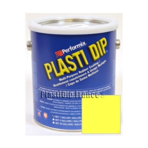 Plasti Dip JAUNE FLUO en bidon 3.78l